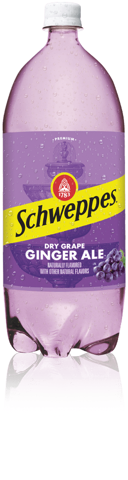 Schweppes Dry Grape Ginger Ale